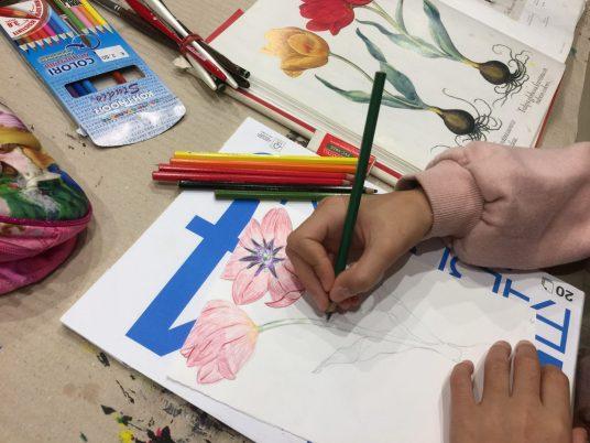 Dipingere con le matite acquarellabili
