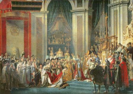 L'incoronazione di Napoleone JACQUES LOUIS DAVIDE