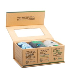 PROTECT THE PLANET GIFT BOX: PROTECT OCEANS, PROTECT RAINFORESTS, PLANT TREES