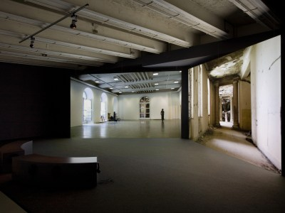 Mariam Ghani, A Brief History of Collapses installation view