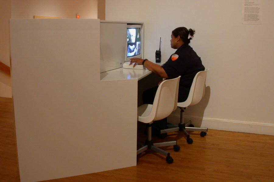 Mariam Ghani, The Glass House Home Movies installation view