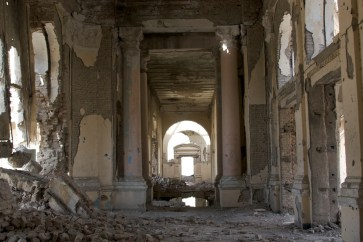 Mariam Ghani, A Brief History of Collapse, Dar ul-Aman Palace