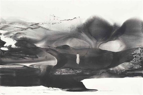 Pintura del alma_By the lake_Gao Xingyian