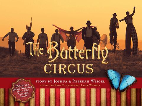 Cartel de El circo de las mariposas