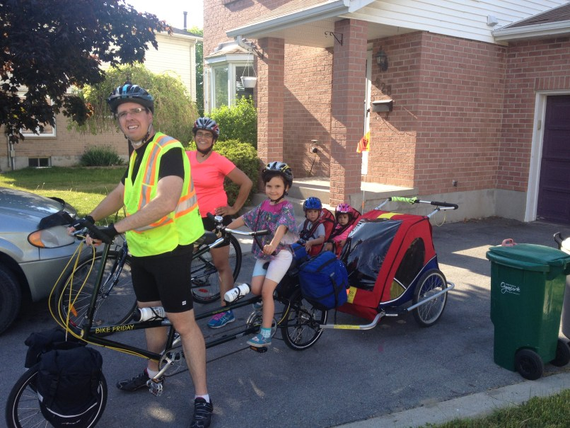 Cycle Touring with Children