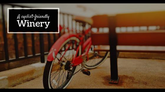 A cyclist-friendly winery