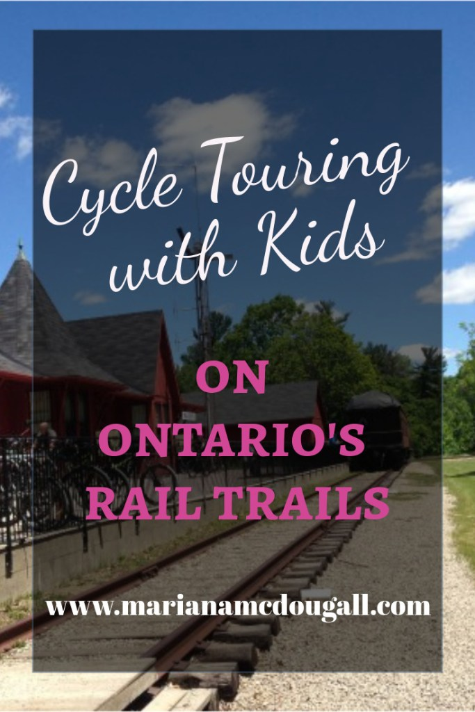 cycle touring with kids on Ontario's Rail Trails