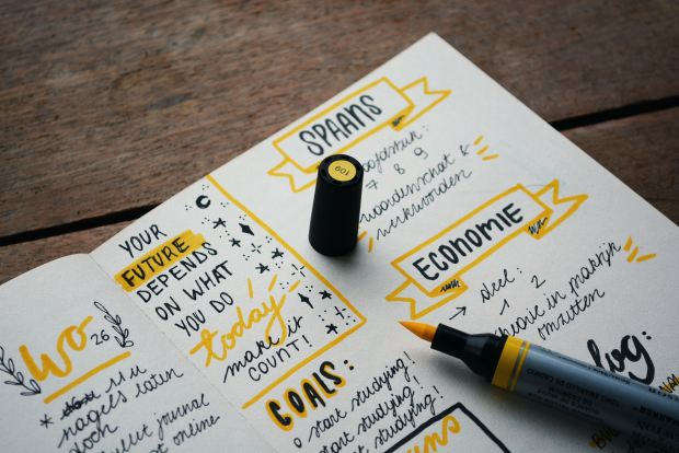 bullet journal Photo by Estée Janssens on Unsplash