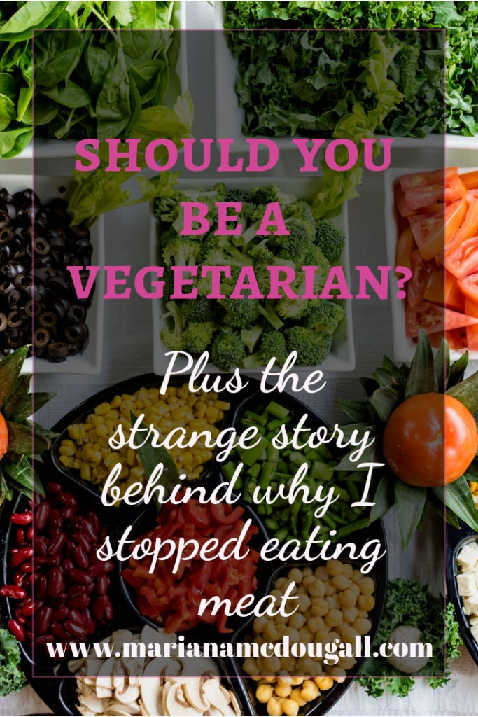 Should you be a vegetarian? Plus the strange story behind why I stopped eating meat, www.marianamcdougall.com, photo by Dan Gold on Unsplash