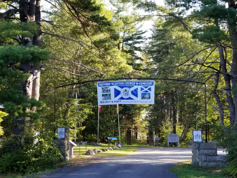 Scottish Historic Church & Cemetery in Miramichi, New Brunswick
