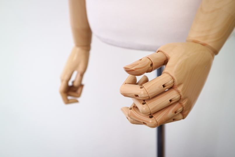 wooden puppet hands