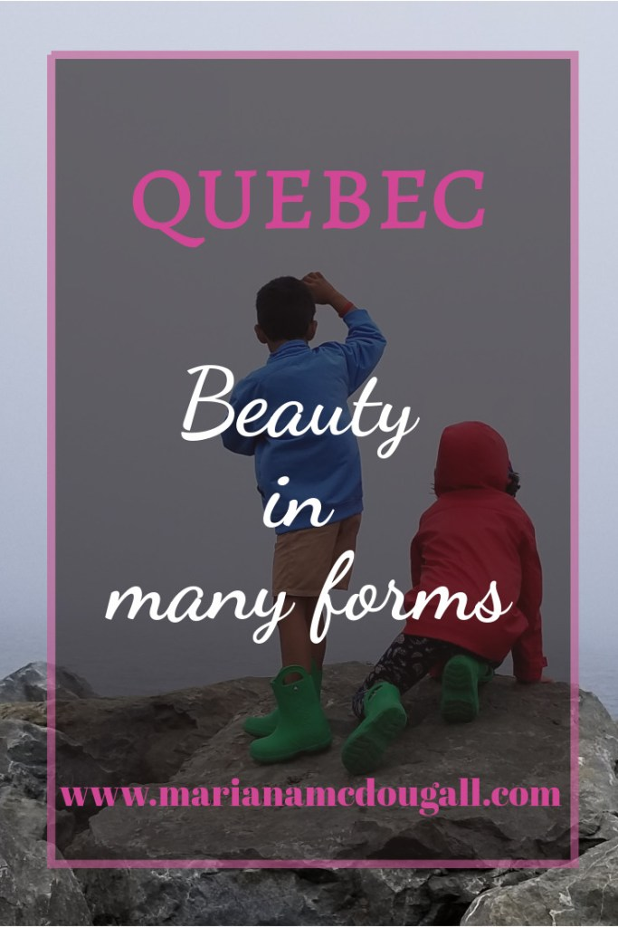 Quebec: beauty in many forms, www.marianamcdougall.com children looking out to the St. Lawrence River