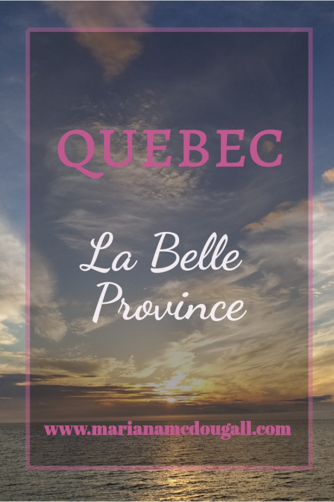 Quebec La Belle Province, www.marianamcdougall.com, picture of sunset in Riviere-du-Loup, Quebec