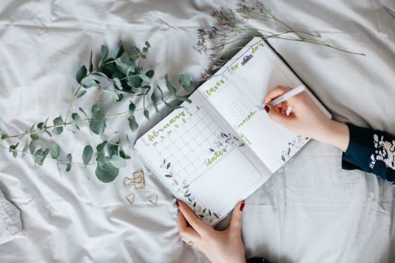 Planning, bullet journal, long-term travel with kids. Photo by The Journal Garden | Vera Bitterer on Unsplash