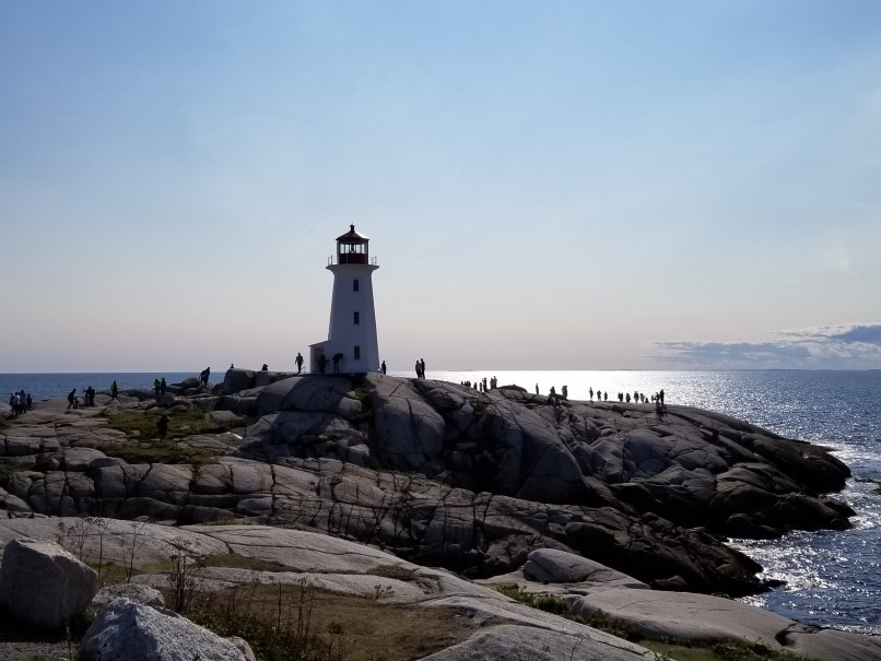 Peggy's Cove lighthouse, NS