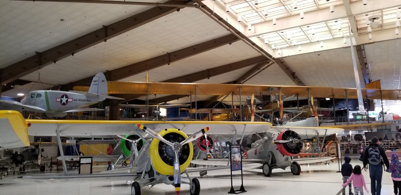 Airplanes at National Naval Aviation Museum