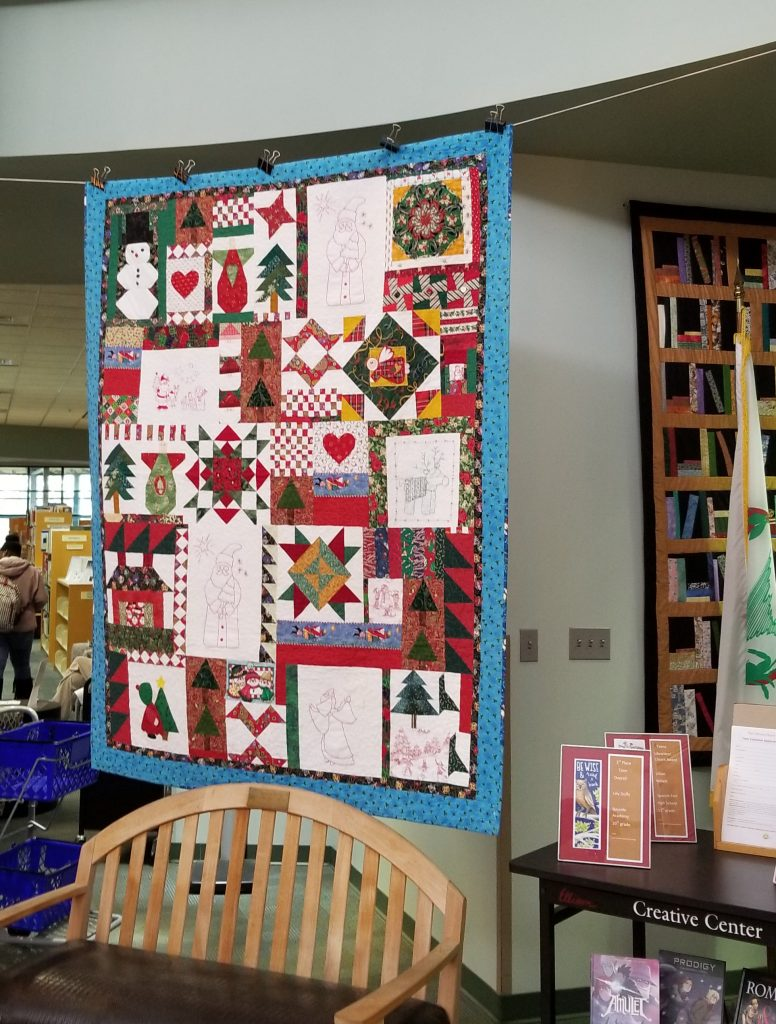 Quilt at Pensacola Public Library