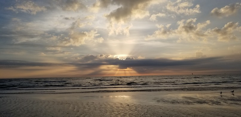 Sunrise at Padre Island