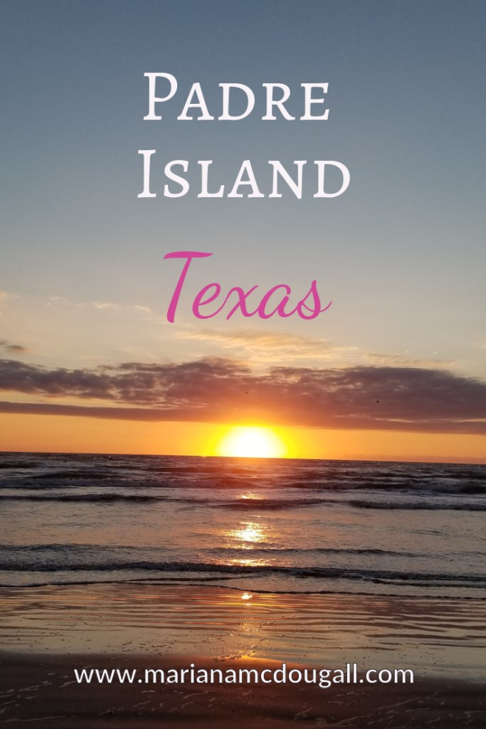 Padre Island, Texas, www.marianamcdougall.com, picture of sunrise