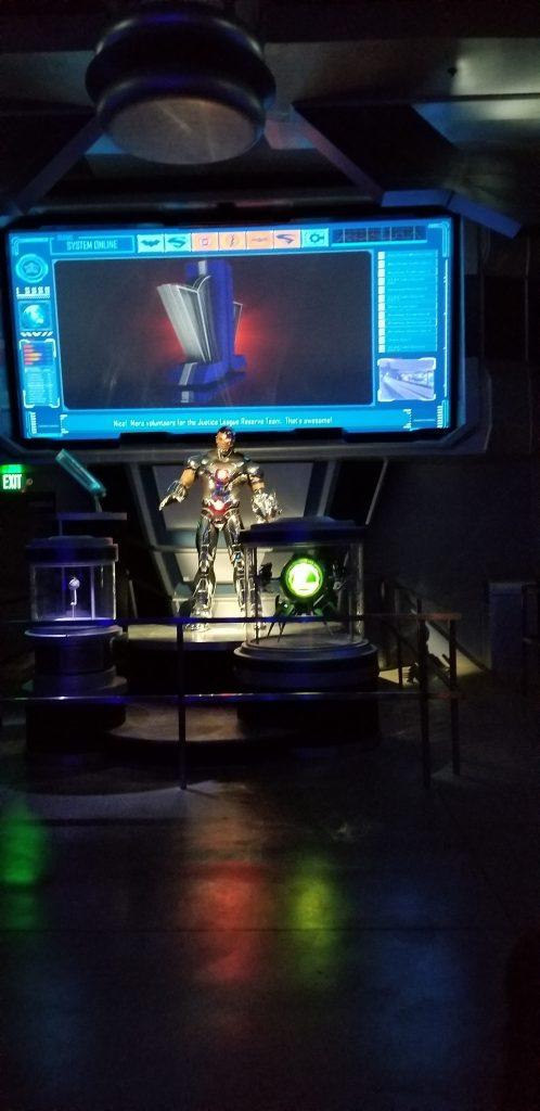 Cyborg at Six Flags Magic Mountain
