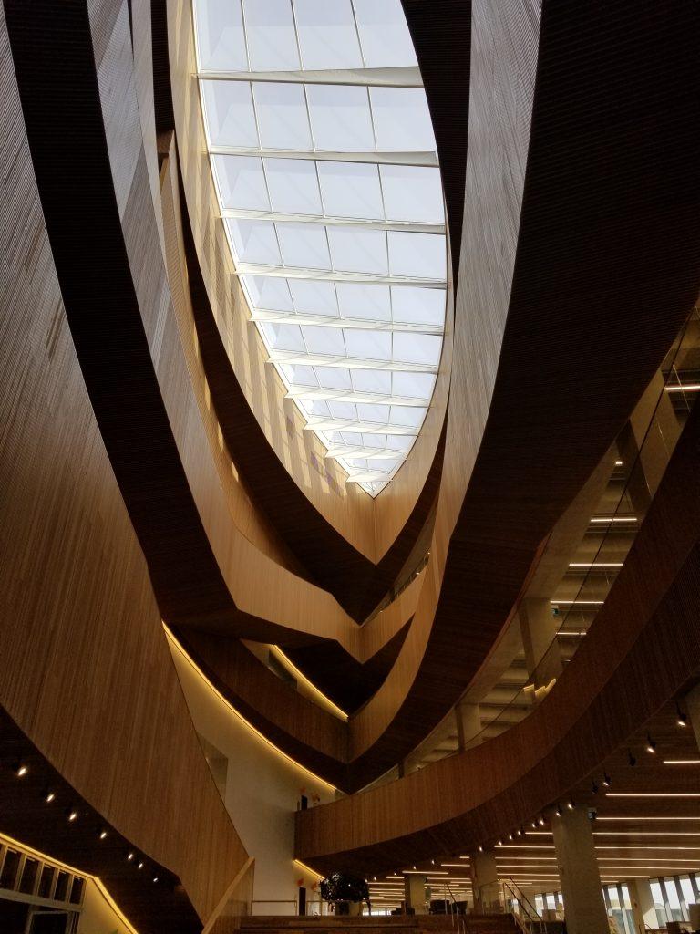 Calgary Central Library skylight