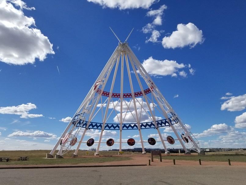 Saamis Tepee in Medicine Hat, Alberta