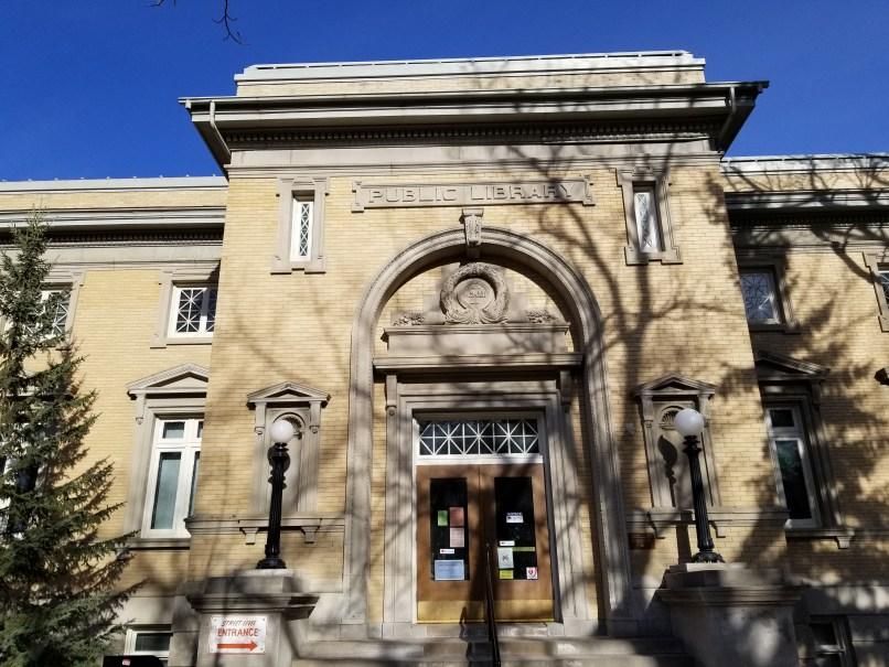 Moose Jaw Public Library façade