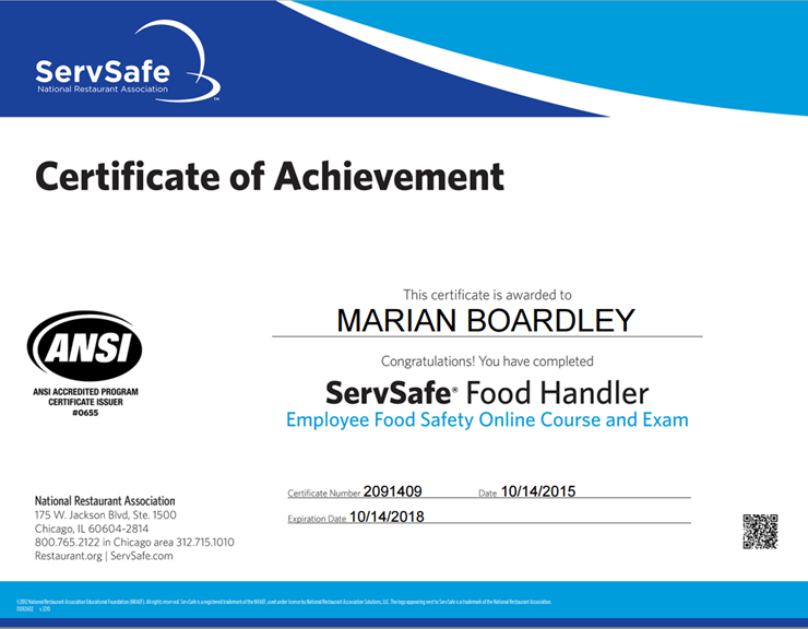 Food Safety Training The Supplement