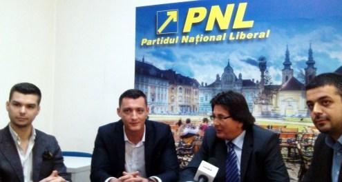 Atragerea în PNL Timiș a conducerii Partidului Mișcarea Populară și Tineretului Conservator, iulie – septembrie 2014