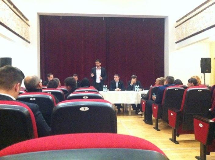 Ședință PNL de macrozonă, Jimbolia, noiembrie 2013