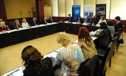 """Dezbatere interactiva """"Rolul Parlamentului European în problematica dezvoltării regionale. Importanța fondurilor europene"""", 2014 1"""