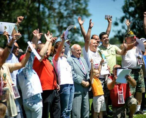Cupa presei la pescuit, Herneacova, iulie 2013