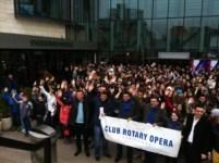 Premii pentru premianți Rotary Opera Timișoara, decembrie 2013