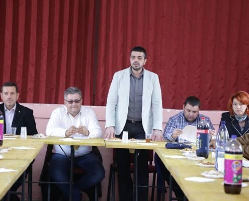 Ședință PNL de macrozonă, Sânmihaiu Român, noiembrie 2013