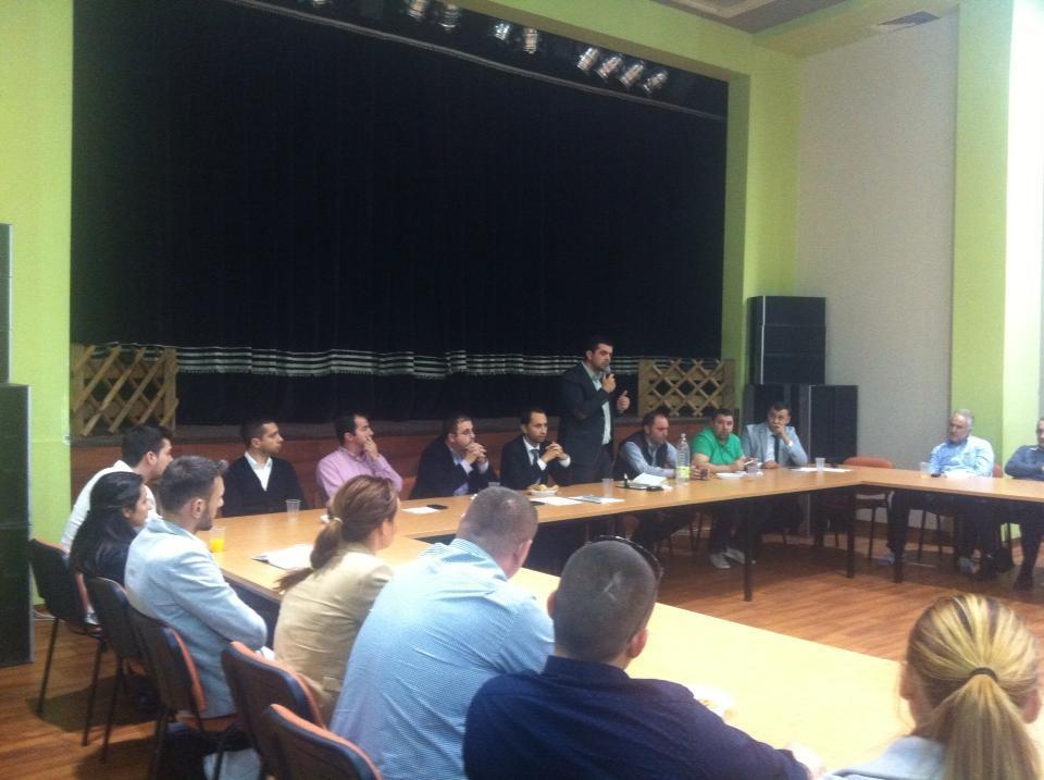 Ședință PNL de macrozonă, Dudeștii Noi, septembrie 2014