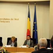 Participare la lucrările Consorțiului Universitaria, Universitatea de Vest Timișoara, 2015 3