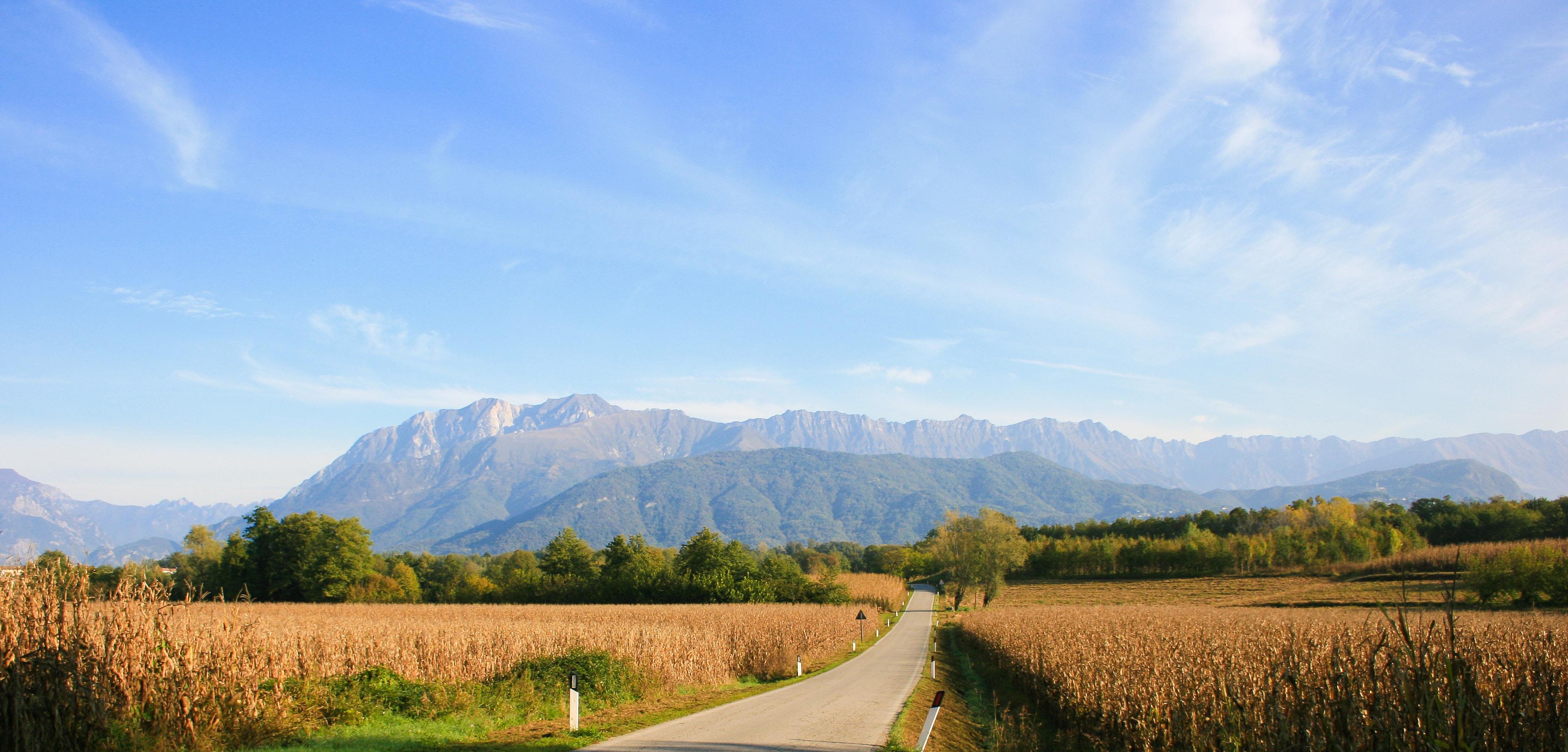 Foto delle colline friulane
