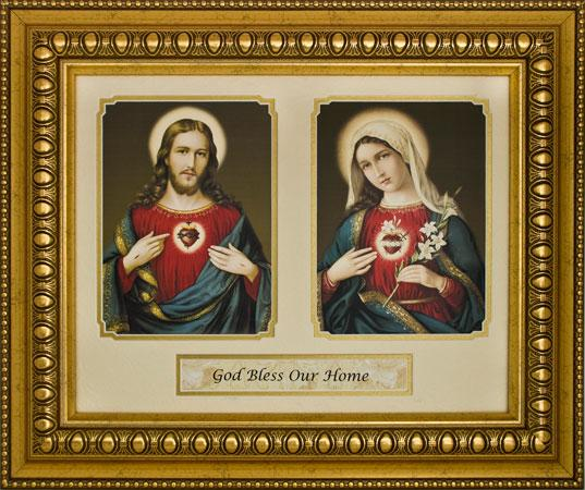 God Bless Our Home 15x18 Plaque