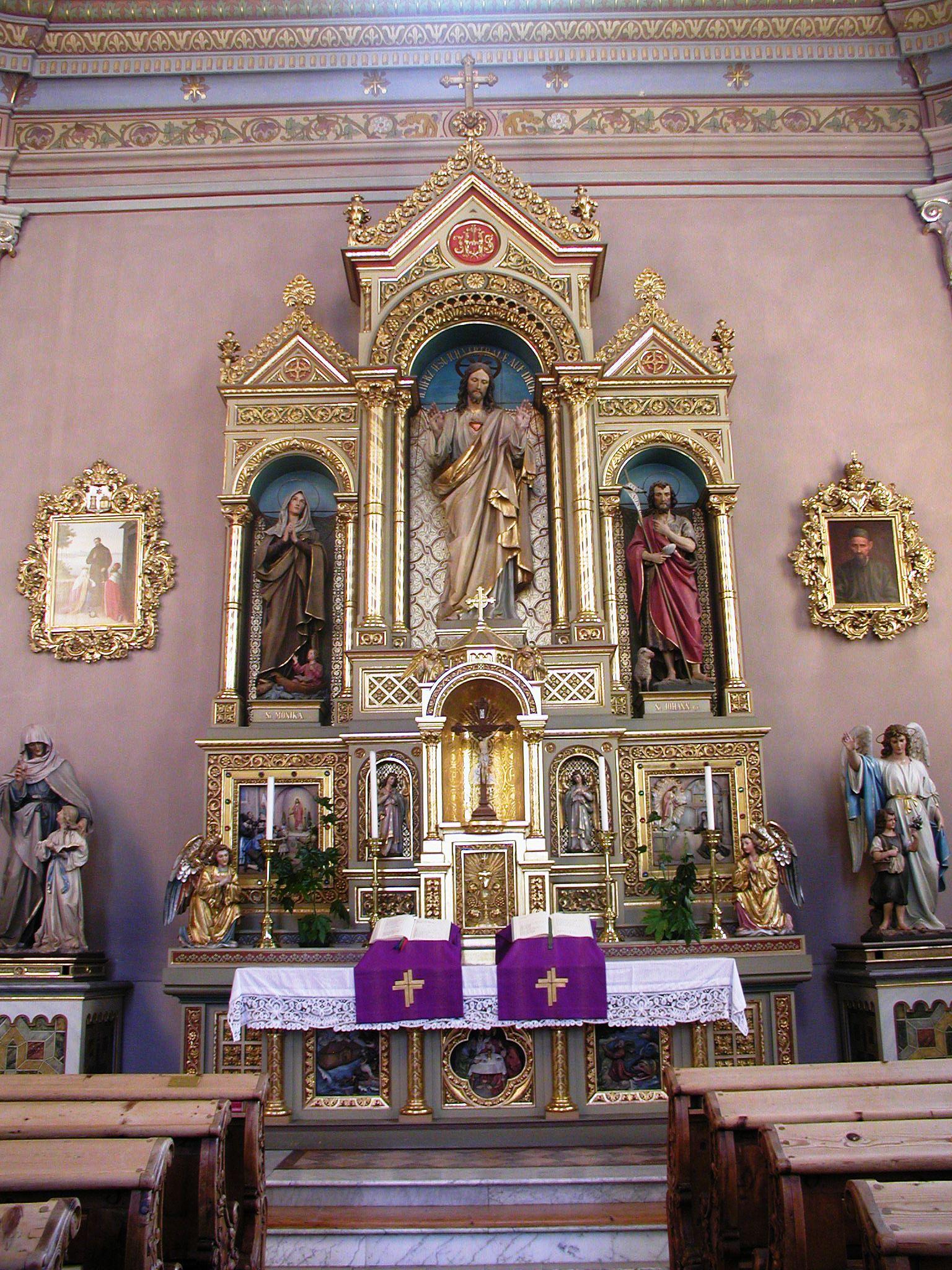 Finest Catholic Altars and Church Interiors