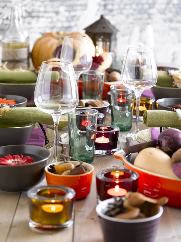 My autumn table styling - Marianne de Bourg/stylist