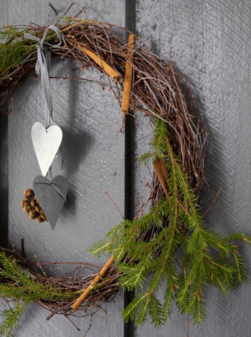 Lag selv kranser og juledekorasjoner til jul og advent