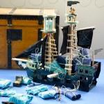Adventskalender i sjørøverskip