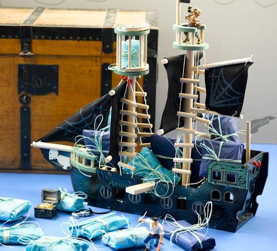 DIY: adventskalender i sjørøverskip