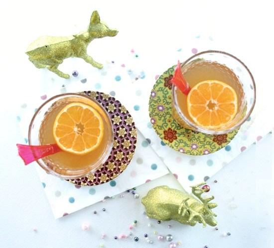 Ingeniørfruens hvite hjemmelagde alkoholfrie gløgg