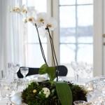 [DIY] Serviettbretting og blomsterdekorasjoner til nyttårsbordet