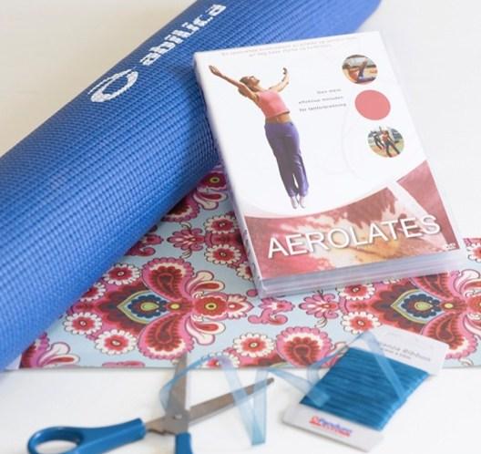 Temagave, her yogamatte pluss yoga-DVD