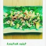 FROKOST/LUNSJ: Asiatisk salat med reker og avokado