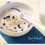 [MAT] FROKOST: Frokostblanding med smak av blåbær og vanilje