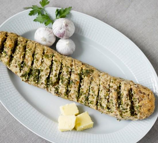 ngeniørfruens-oppskrift-på-hvitløksbaguette-med-lavkarbo-brødmix