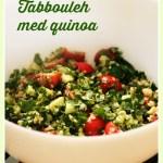 [MAT] Glutenfri tabbouleh med quinoa